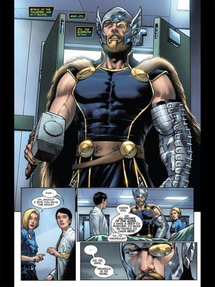 nuovo costume di Thor