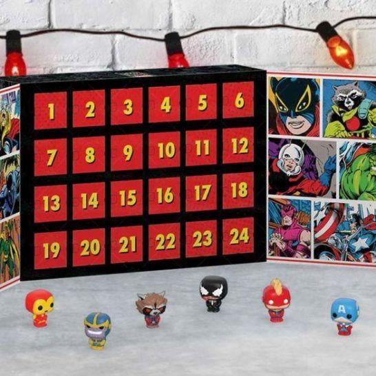 calendario avvento funko pop marvel