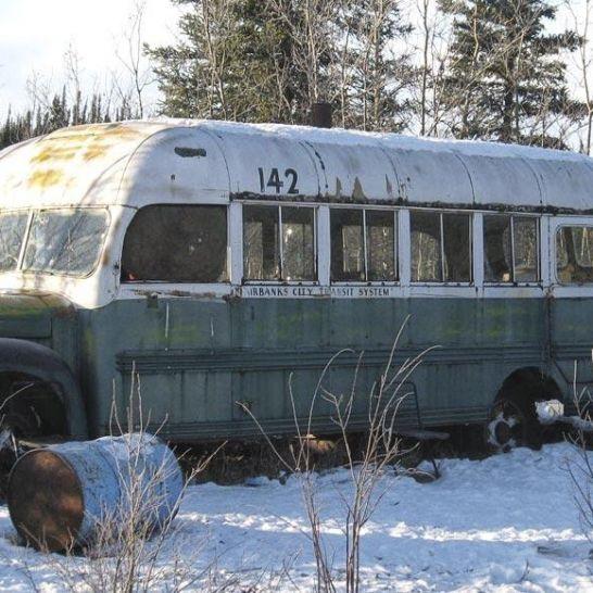 bus di Into The Wild