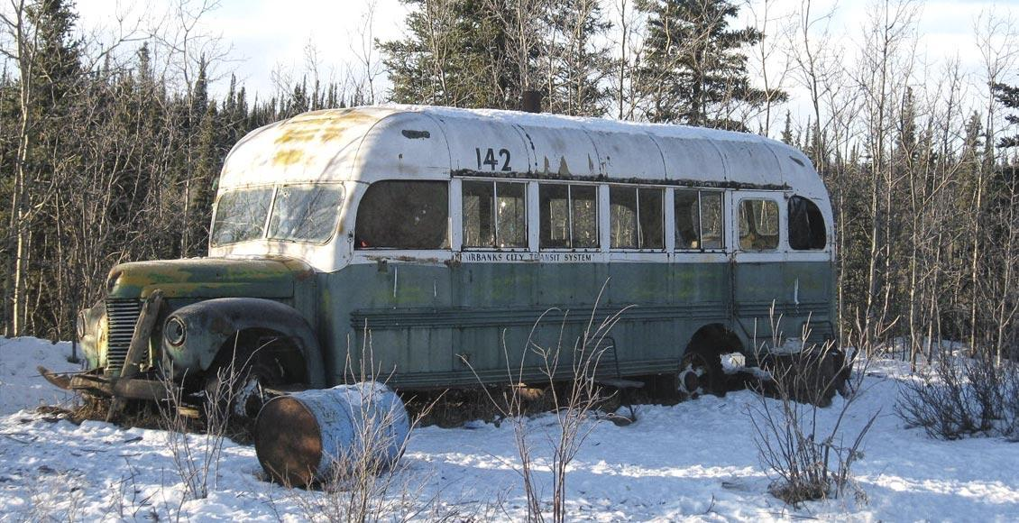 bus di Into The Wild