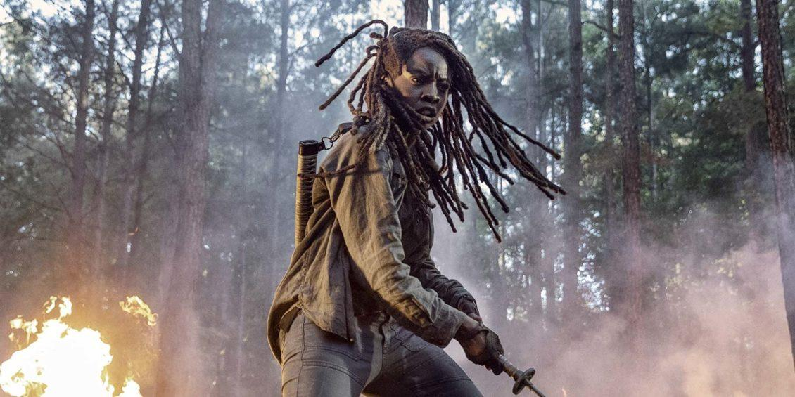 th walking dead 10 michonne
