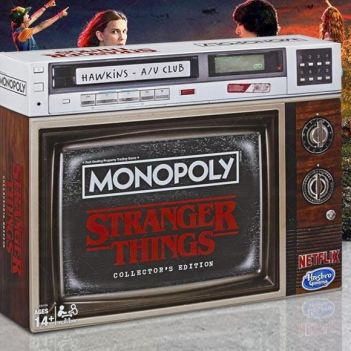 edizione da collezione del Monopoly di Stranger Things