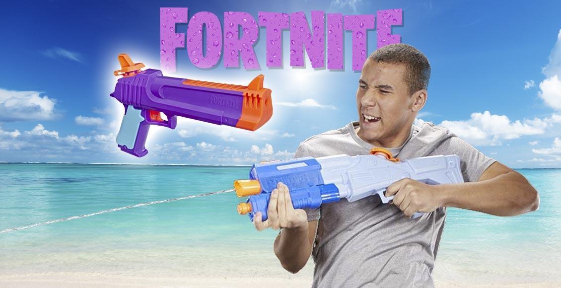 pistole ad acqua di Fortnite