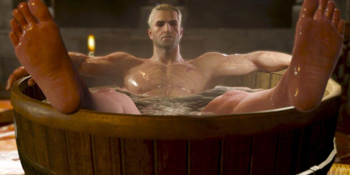 the witcher vasca da bagno