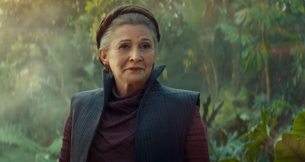 Star Wars L'ascesa di Skywalker Leia Carrie Fischer