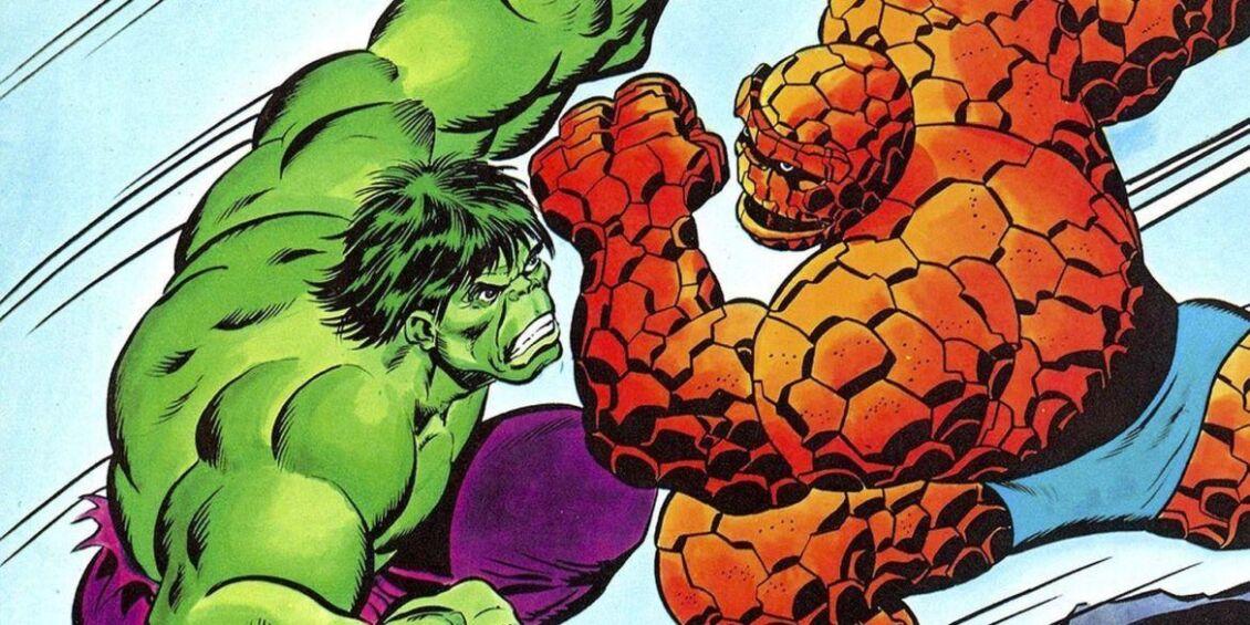 hulk vs la cosa