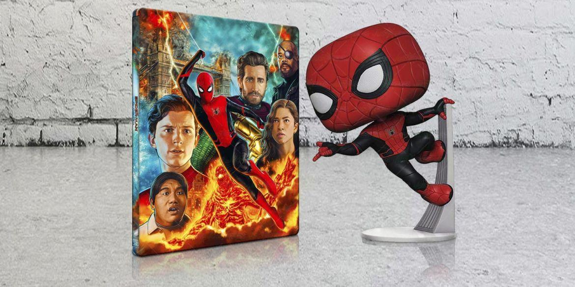 steelbook spider-man far from home