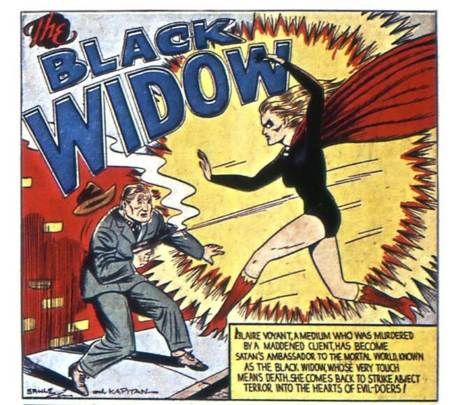 Black Widow Timely Comics