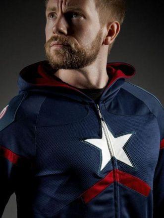 felpa di Captain America