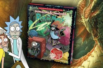 Rick e Morty Dungeons and Dragons