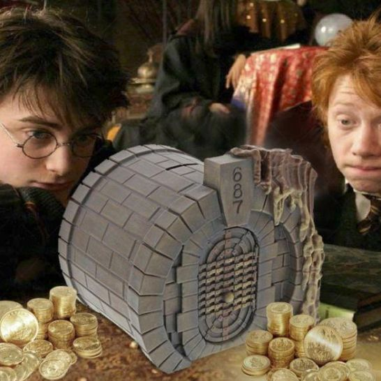salvadanaio gringott harry potter