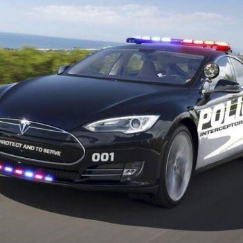 tesla polizia