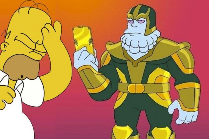 i simpson thanos chinnos