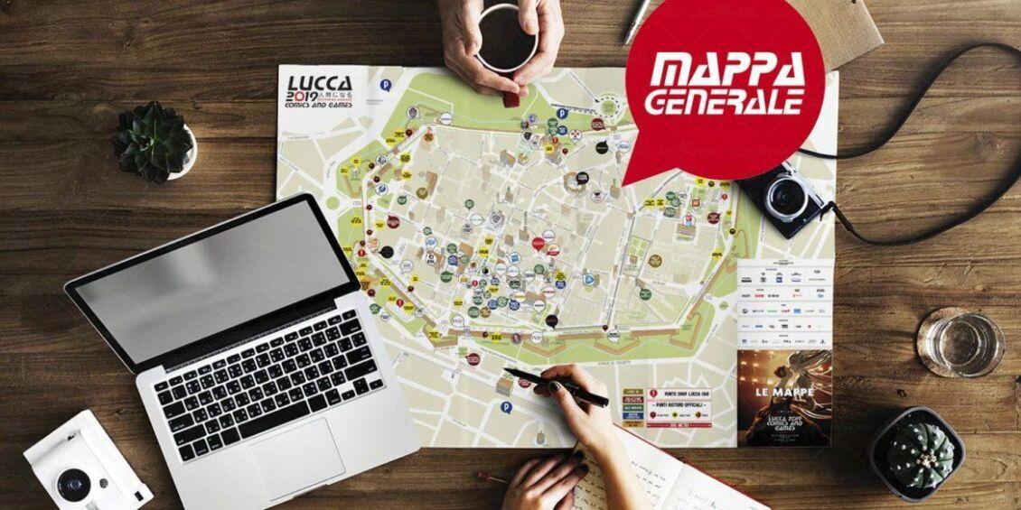 mappa lucca comics 2019