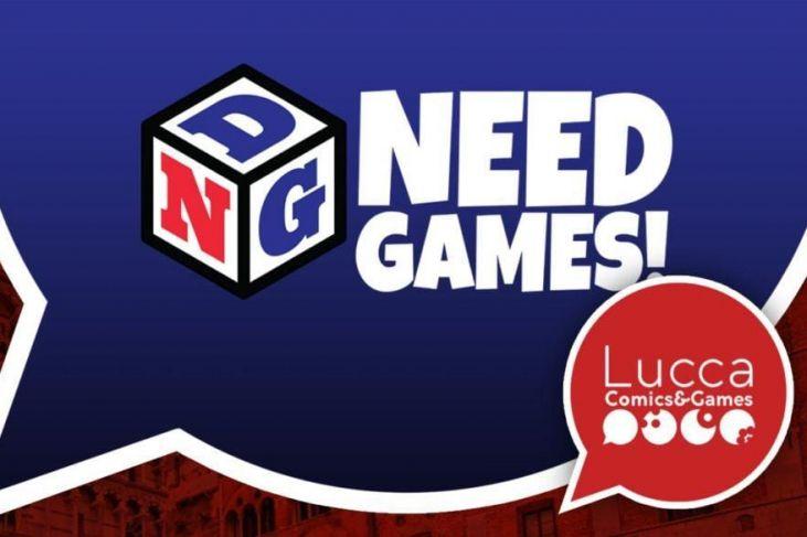 need games lucca comics