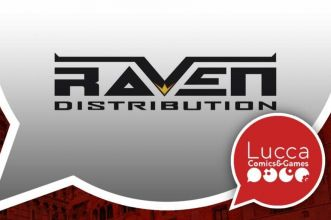 raven distribution lucca comics