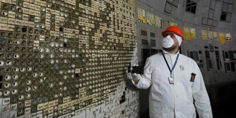 chernobyl sala controllo reattore 4