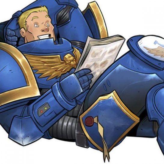 warhammer 40000 fumetto