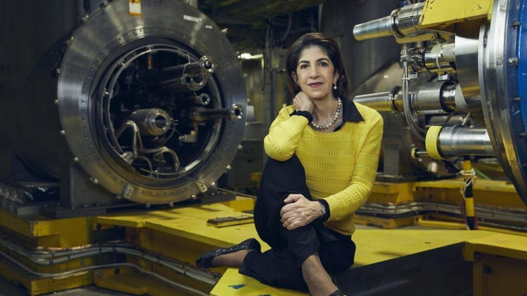 Fabiola Gianotti Cern