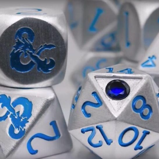 Shappire Dice Dungeons & Dragons