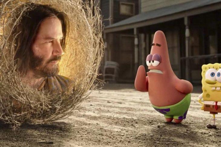 Keanu Reeves Spongebob