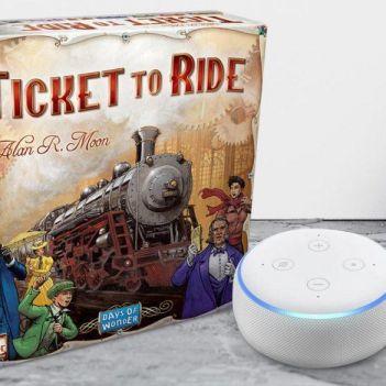 Alexa ticket to ride