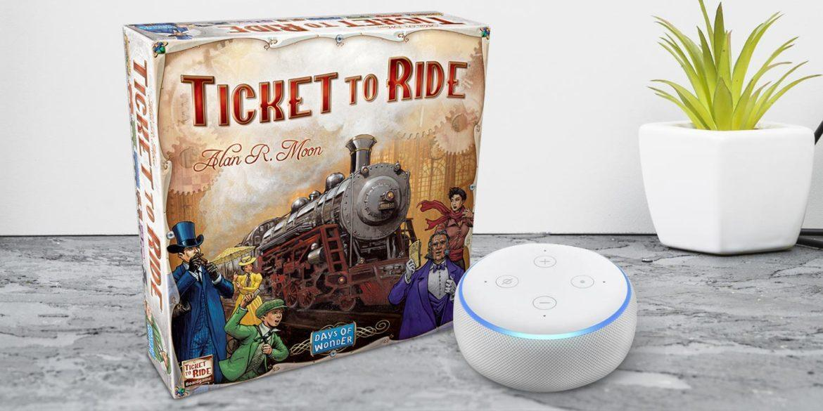 Alexa ticket to ride