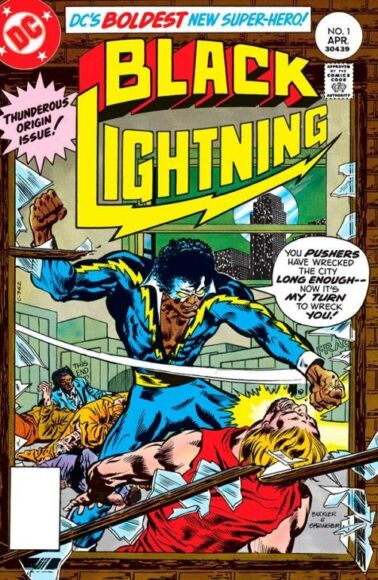 Black Lightning Bronze Age del fumetto
