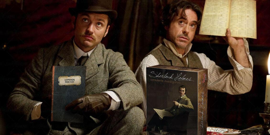 Sherlock Holmes giochi da tavolo