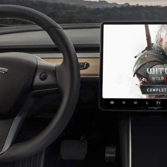 The Witcher 3 Tesla