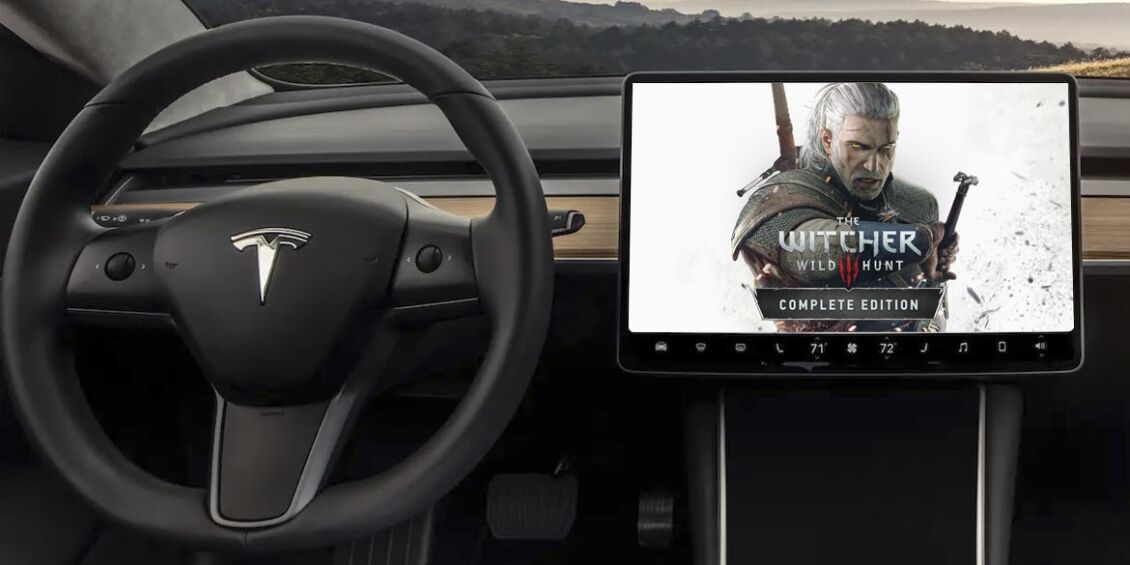 The Witcher 3 Tesla