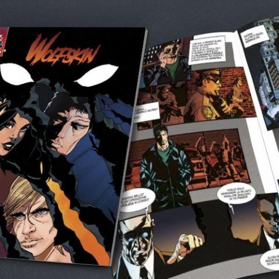 Wolfskin Prankster Comics