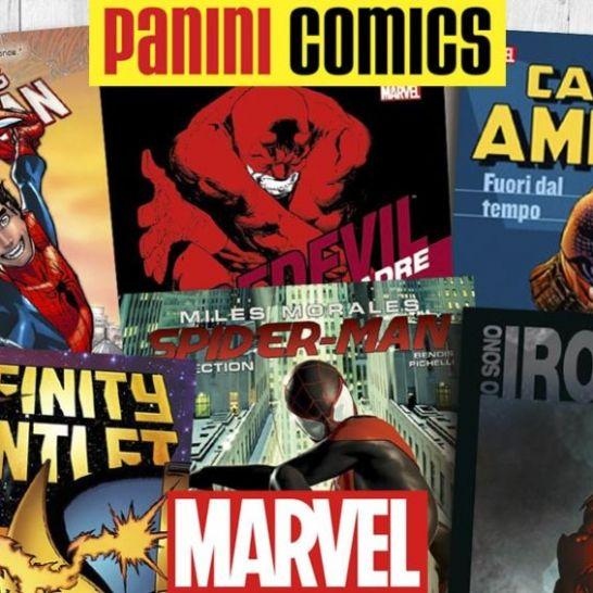 panini comics fumetti marvel