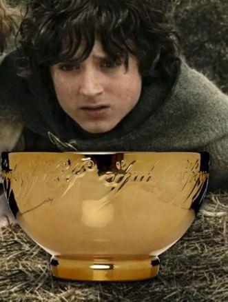 tazza il signore degli anelli