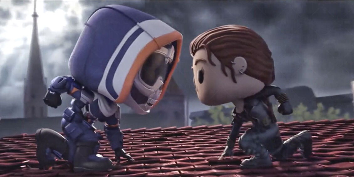 Black Widow Funko Animation
