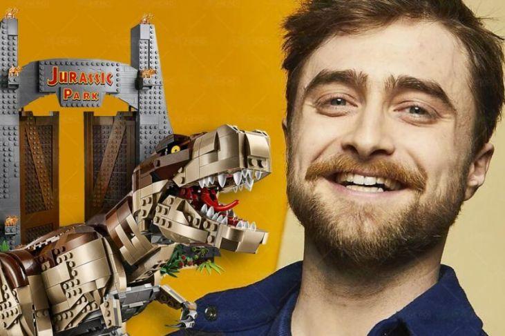 Daniel Radcliffe set lego Jurassic Park