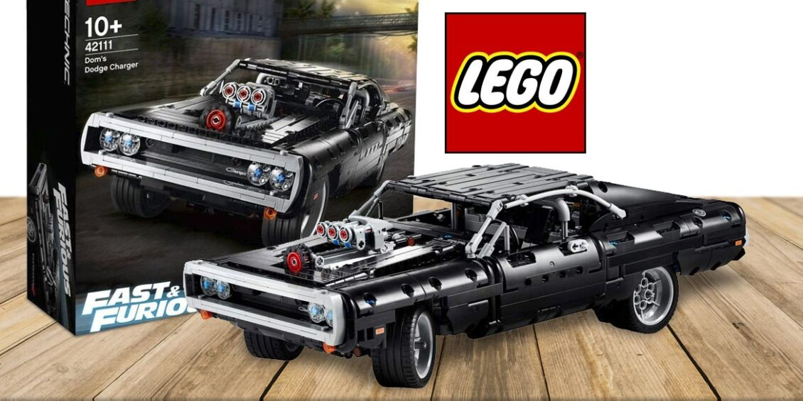 Dodge Charger LEGO Technic Dom's Dodge Charger (42111)