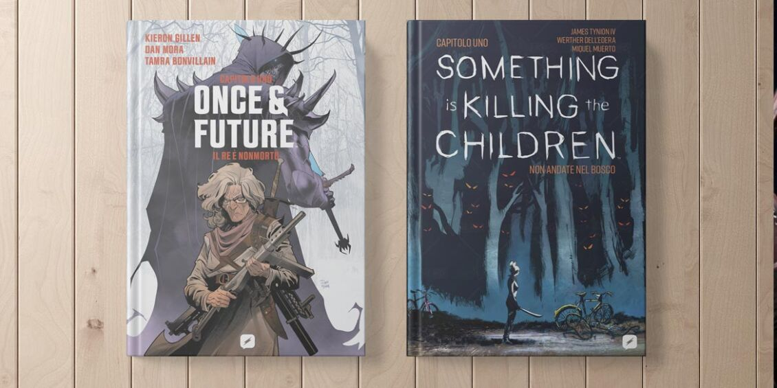 Edizioni BD annunciaSomething is Killing the Children Once & Future
