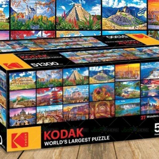 puzzle più grande del mondo kodak