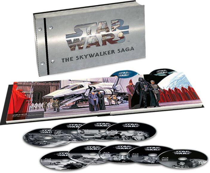 Star Wars Saga Home Video