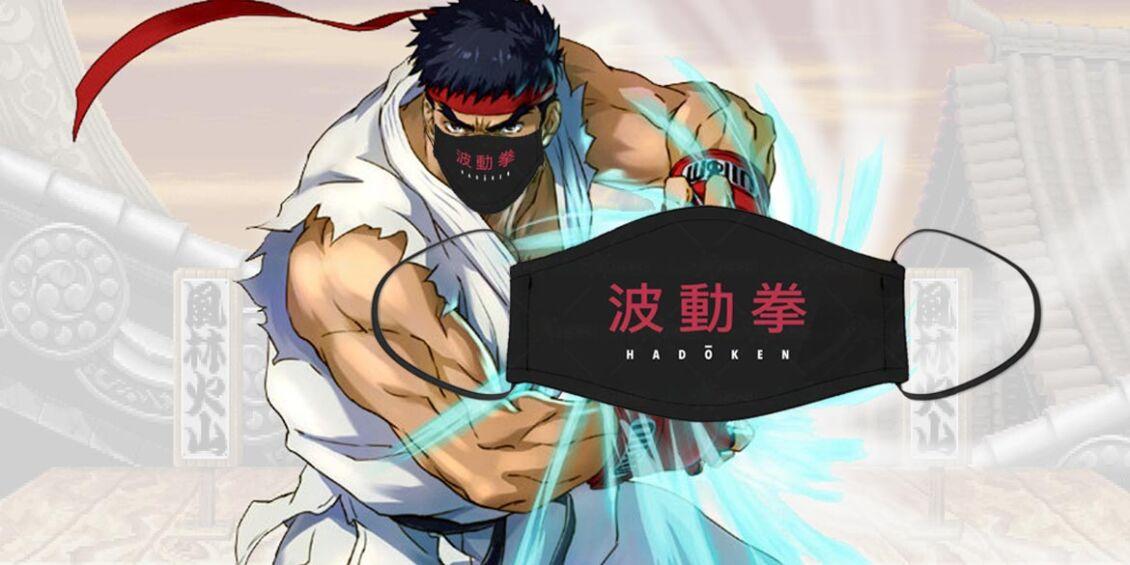 Mascherina Facciale Street Fighter Hadouken