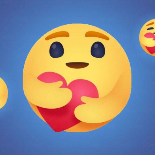 emoji abbraccio Facebook care
