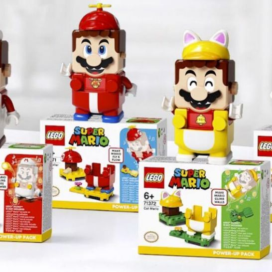 super mario lego power up