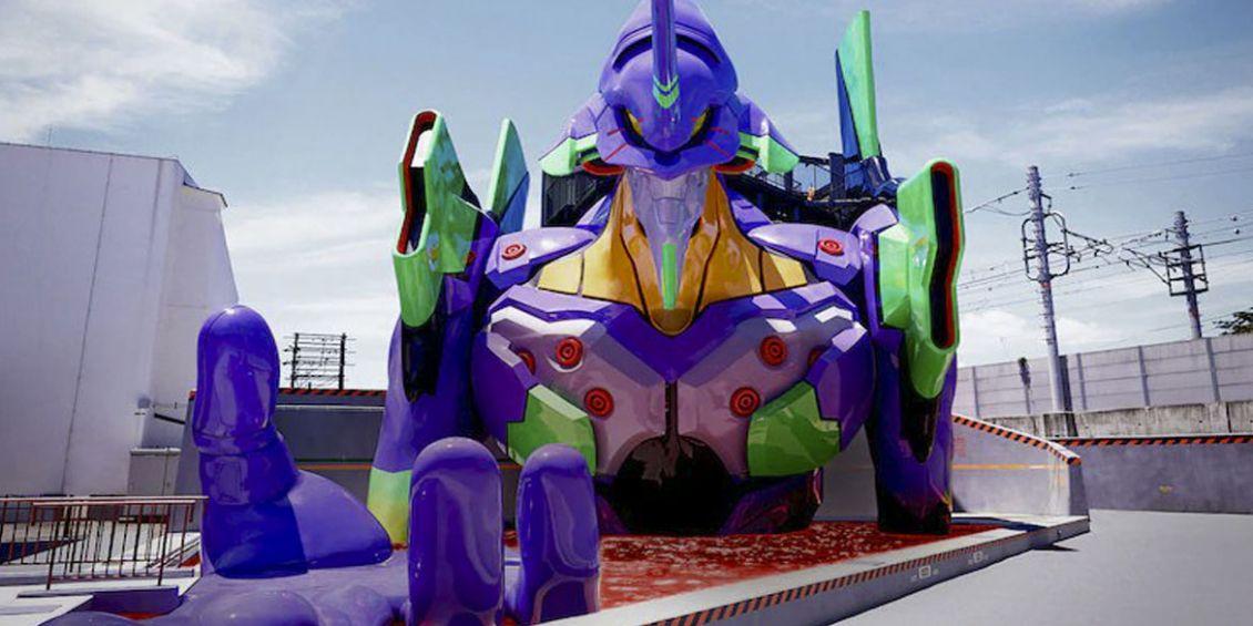 EVA-01 trono dell'anima