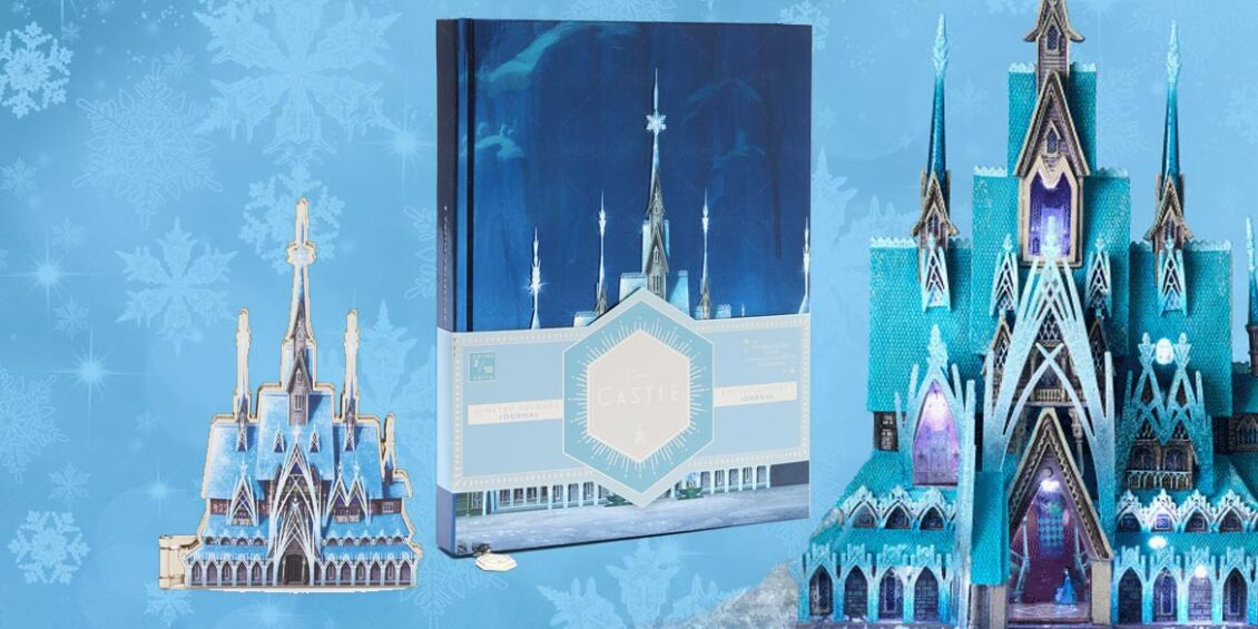 Frozen 2 Disney Castle Collection