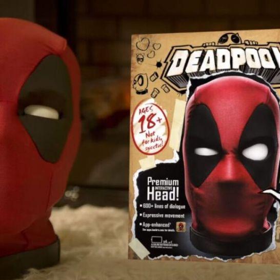 Testa Deadpool parlante