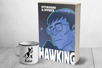 Hawking graphic novel biografia a fumetti