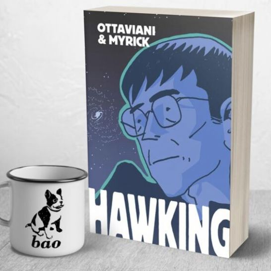 Hawking graphic novel biografia a fumetti