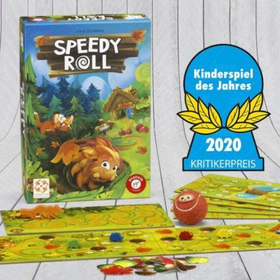 Speedy Roll kinderspiel des jahres 2020