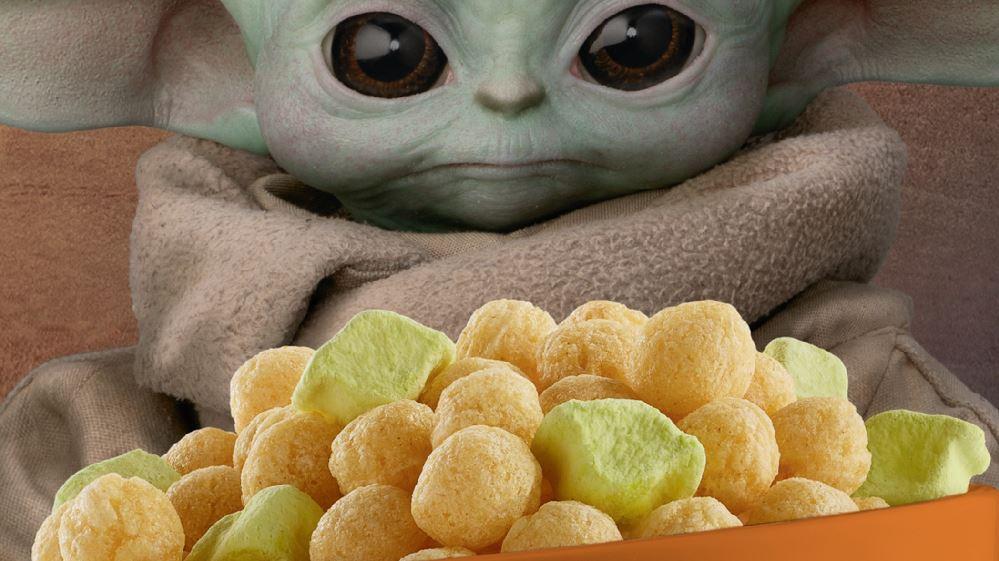 Cereali Baby Yoda
